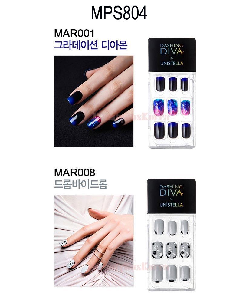 Beauty Box Korea - DASHING DIVA Magic Press Set 5items [Unistella ...